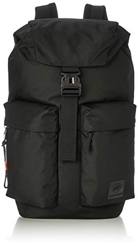 Mammut Xeron 30L Daypack, Business Backpack, Rucksack with integrated laptop compartmen for Women, Men & Kids, Black