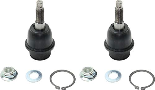 Evan-Fischer Front Ball Joint Set of 2 Compatible with 2009-2010 Dodge Ram 1500 and 2011-2018 Ram 1500 Driver and Passenger Side Lower