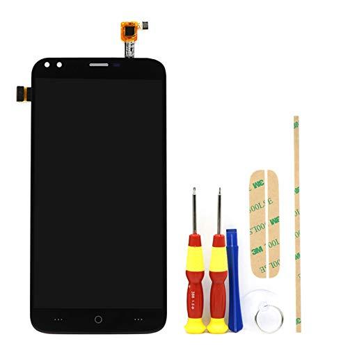 XCYY Pantalla táctil original de 5,5 pulgadas + pantalla LCD de 1280 x 720 de repuesto para pantalla de teléfono modelo Doogee X30 (color negro).