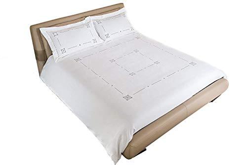 Juego Funda Nórdica Donatello individual 140x 200cm bordado a mano con funda de almohada 70x 90cm