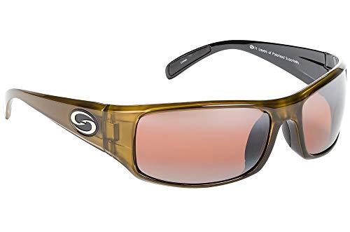 Strike King S11 Optics Full Frame Polarized Sunglasses (Dark Amber Brown)
