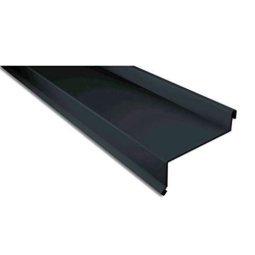 Sohlbank   Kantteil   Material Stahl   Stärke 0,50 mm   Beschichtung 80 µm   Farbe Anthrazitgrau