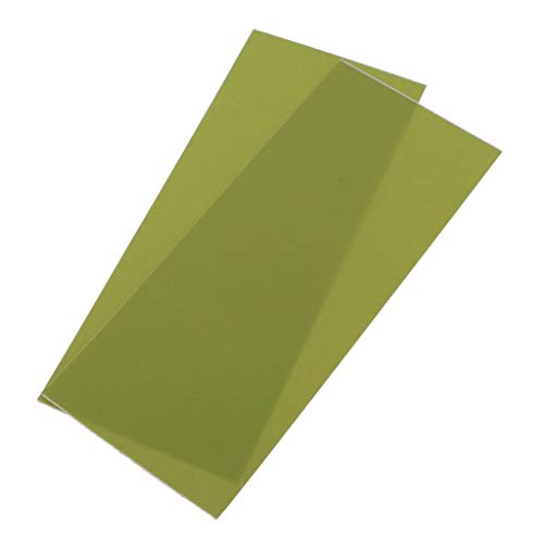 Sharplace 2 Pièces Fer sur Patchs en Tissu Denim Jean Patchs de Réparation Vêtements pour Veste Jean - Pomme Verte