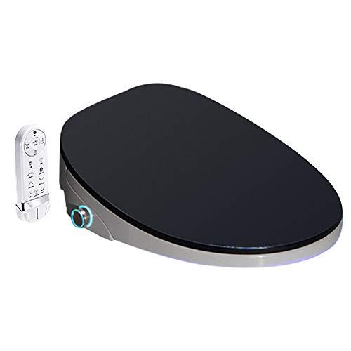 Asiento de inodoro inteligente, control remoto eléctrico cubierta bidé, pantalla Auto SpA...