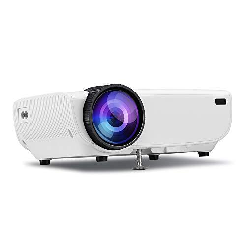 CZX LED Smart TV 3D projecteur, 1080P Mini projecteur 130\