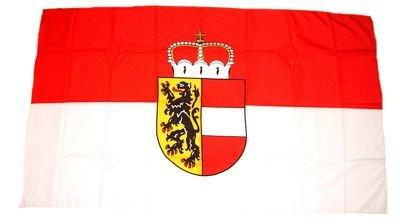 Flagge Fahne Österreich - Salzburg 30 x 45 cm FLAGGENMAE®