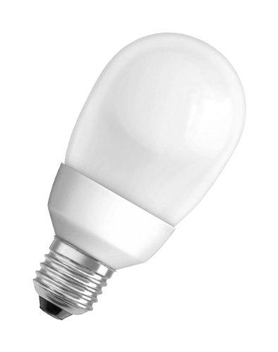 Osram ampoule à économie d'énergie DULUX SUPERSTAR MINI BALL DSST MIBA, 20 Watt - 20W / E27 / 825