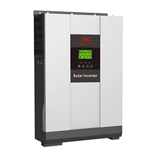 Sunstone Power Hybrid Solar Wechselrichter 48V Batterie Solar Wechselrichter 5000W Mit 80A MPPT Inverter Reiner Sinus Solar Wechselrichter LCD