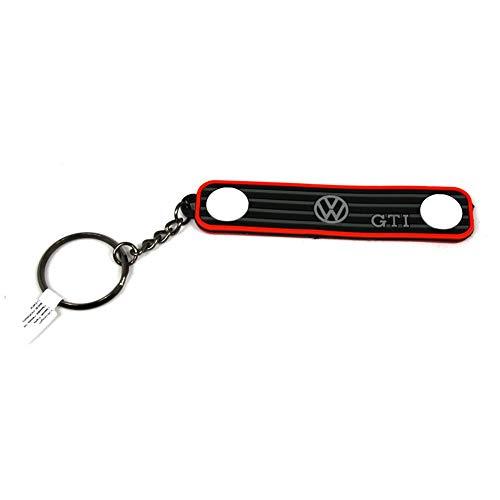 Volkswagen 902520CLASSIC Schlüsselanhänger Original VW GTI Kühlergrill Keyring, Schwarz, Mittel