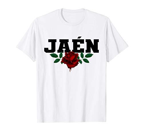Jaén España - Spain Heritage Bleeding Rose Souvenir Camiseta
