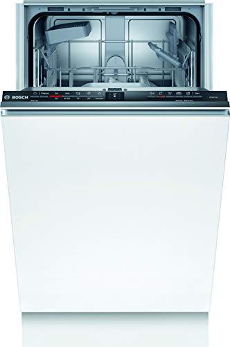 Bosch SPV2IKX10E Série 2 Lave-vaisselle entièrement intégré/A + / 45 cm / 222 kWh/an / 9 MGD/Silence/InfoLight/Séchage extra/Panier à couverts Vario/Home Connect