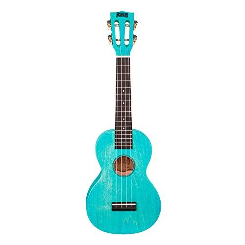 Mahalo island Series - Ukelele para concierto, color azul