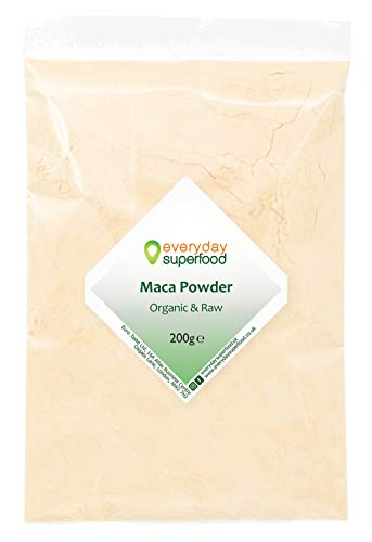 Polvo de maca de 200 g orgánico crudo...