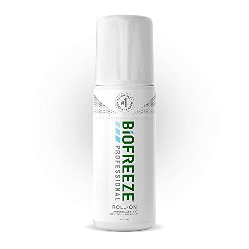 Biofreeze Professional Pain Relief Roll-On, 3 oz. Bottle, Green