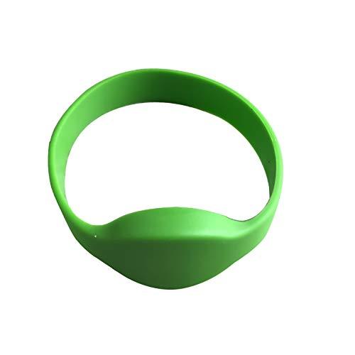 YARONGTECH rfid armband 125KHz Transponder em4100 Silikon Grüne Farbe 5 Stück
