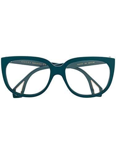 Gucci Luxury Fashion Donna GG0470O003 Blu Acetato Occhiali   Stagione Permanente