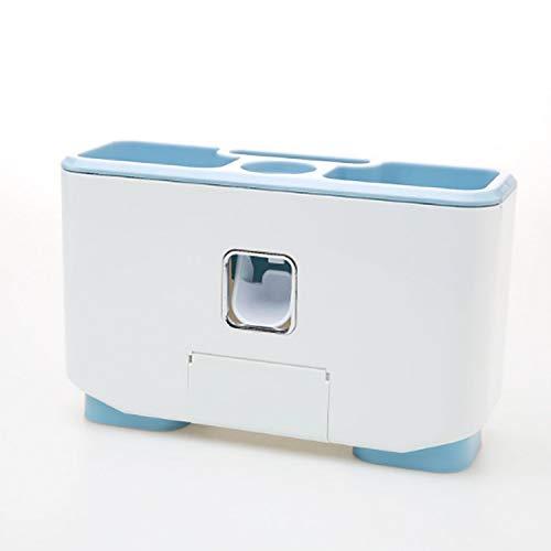 DKFS Badkamer Zuignap Geplaatst Mondwater Tandenborstel Opslag Wandmontage Ontsmetting Cup Set Box Zuignap Plaatsing
