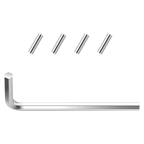 DAYREE Spring Hinge Tension Pin Replacement Kit Including Hex Wrench and 4 PCS Spring Hinge Pin for Self Closing Door Hinges Garage Door Spring