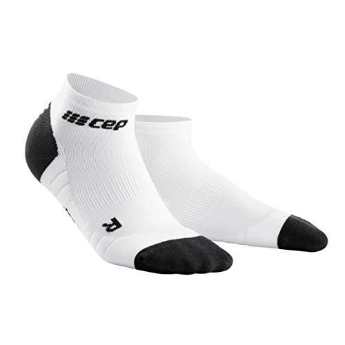 CEP – Low Cut Socks 3.0 für Damen | Kurze Sportsocken für Dein Workout in weiß/grau | Größe III