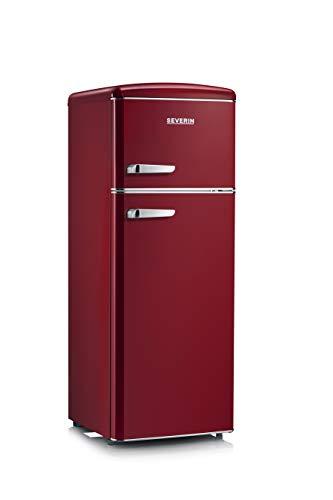 Severin RKG 8931 frigorifero con congelatore Libera installazione Bordeaux 208 L A++