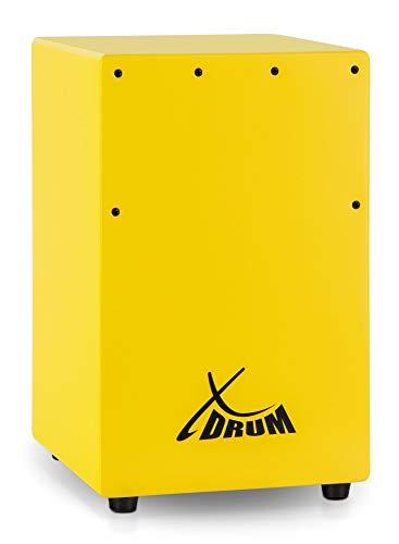 XDrum KC-37G Cajón para niños en amarillo