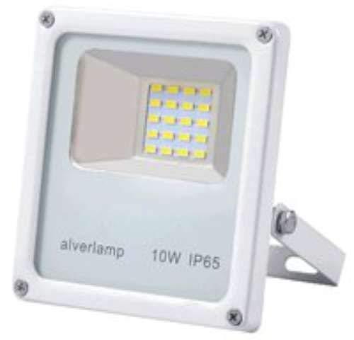 Alverlamp LPRO1041W_C - Proyector led 10w 4000k blanco: Amazon.es ...