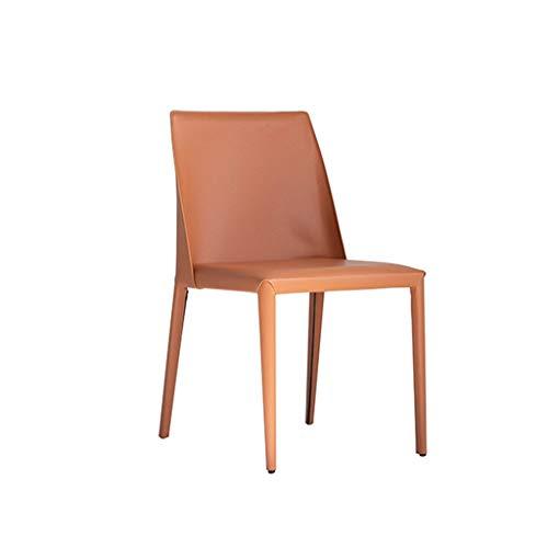 CHANG XU DONG SHOP Accent Leather Dining Chair Moderner minimalistischer Designstuhl Kosmetikstuhl Arbeitsstuhl Home Dining Chair