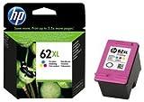 HP 62XL C2P07AE Cartouche d'Encre Grande Capacité Authentique pour Imprimantes HP...
