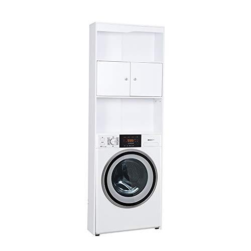FancyWood Waschmaschinenschrank Badregal Waschmaschinen-Überbauschrank,Hochschrank Waschmaschine Bad Schrank Badezimmer Waschmaschinenüberbau