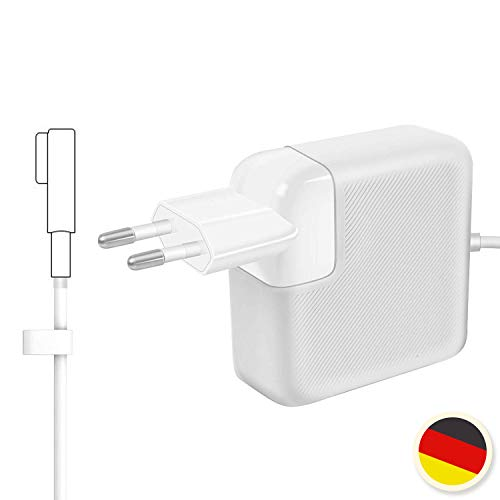 MacBook Pro Ladekabel Netzteil 60W, MagSafe 1 L-Stecker Mac Book Pro Ladegerät Kompatibel mit A1181 A1184 A1278 A1342 A1344 MacBook Pro 13