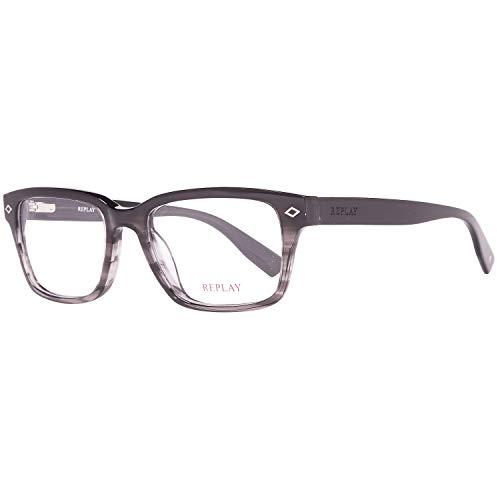 Replay Brille Herren Schwarz Lese-Brillen Brillen-Gestell Brillen-Fassung
