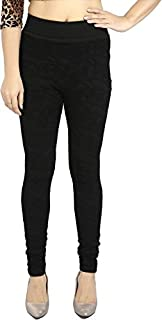 INFISPACE® Soft Comfortable High Waist Solid Black Jegging for Casual/Office Wear(Upto 32'' Waist)