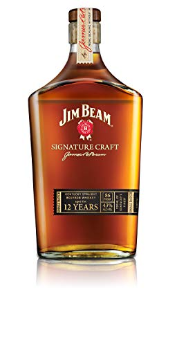 Jim Beam 12 Años Signature Craft Bourbon Whisky, 43% - 700 ml
