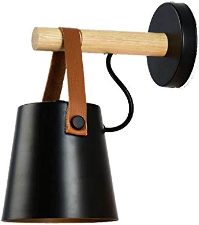 ZLMAY Moderner, Verstellbarer Decken-   Wandstrahler aus gebürstetem Chrom mit praktischem Stecker, Kabel und Schalter (Farbe   Schwarz)