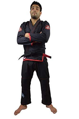 Kimono Jiu Jitsu Feminino Keiko Sports Meninas M2 Preto