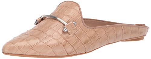Dolce Vita Women's Gram Mule, Cafe Crocodile Embossed Leather, 7.5 M US