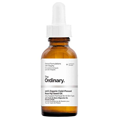 1. The Ordinary 100% Organic Rosehip Seed Oil