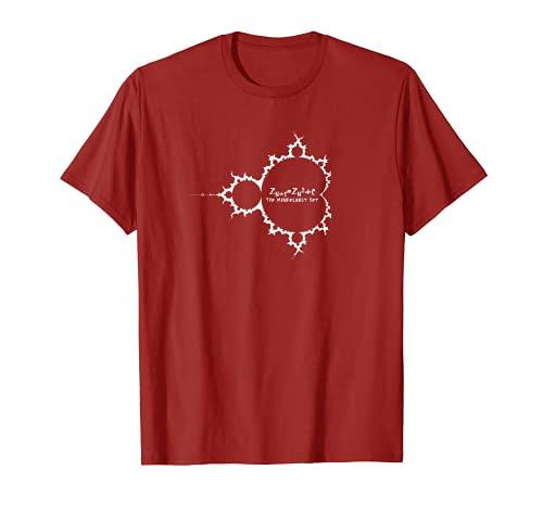 フラクタル マンデルブロ集合と数式 Tシャツ