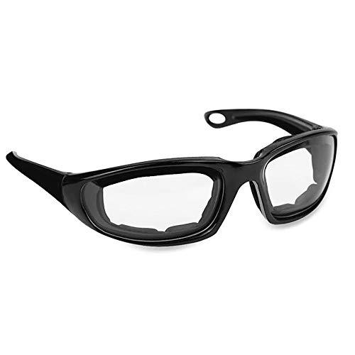 24 JOYAS Gafas Moto con Almohadillas Protectoras del viento para Ciclistas y Motoristas Unisex (Transparente)