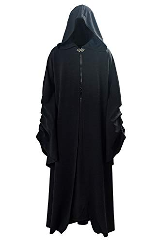 Mittelalter Retro Robe Darth Sidious Palpatine Cosplay Kostüm Herren XL