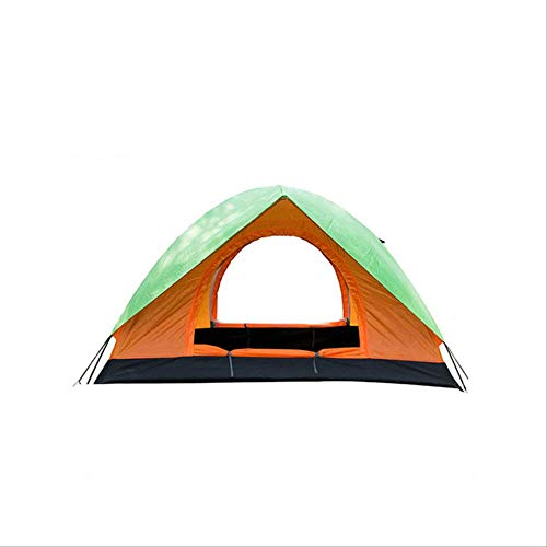 DYGZS tent Person Ultralight Tent Double Layer Water Resistance Double Door Camping And Recreational Rain Shelter Outdoor Tent Portable 2 persons