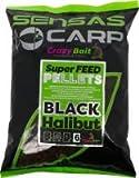Starbaits Super Feed Pellets Black Halibut 2 mm