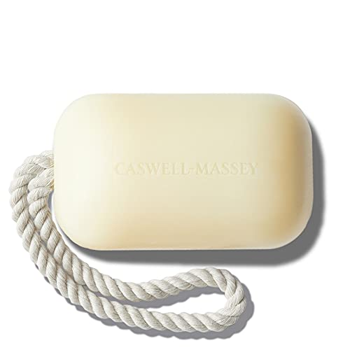 Caswell-Massey Triple Milled Luxury Bath Soap NUMBER SIX Soap On A Rope - Famed Fragrance - 8 Ounces (Soap on a Rope)