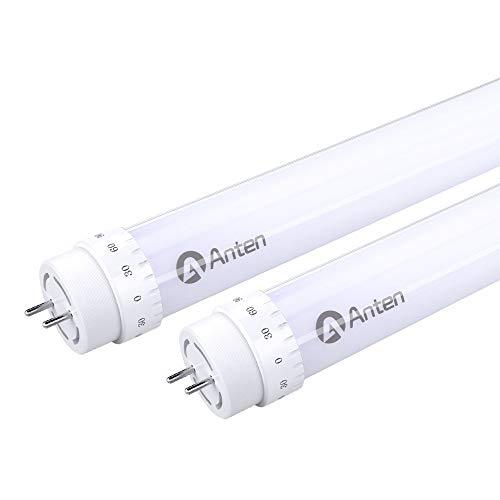 Anten 2er LED Röhre 120cm 20W T8 Sockel G13 LED Leuchtstoffröhre in Warmweiß 3000K Tube Röhrenlampe 2000 Lumen inkl. LED Starter