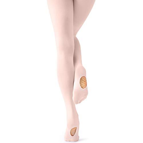 tanzdunsje Medias de Ballet y Danza Convertible para Niña y Adultos