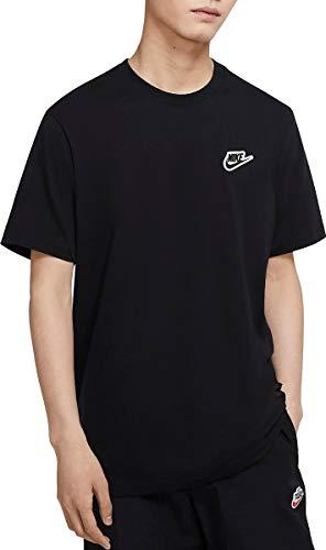 Nike Sportswear CU8916-010 - Camiseta de manga corta para hombre, color negro negro XL