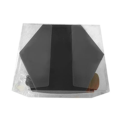 FWJSDPZ Caja De Álbum De Fotos Creativa Terminado Scrapbook Hexagonal Love Note Cuadro Cumpleaños Sorpresa Regalo (Color : Black)