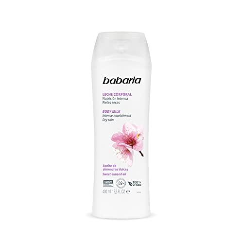 Babaria – Crema de cuerpo hidratante con aceite de almendras - 400 ml