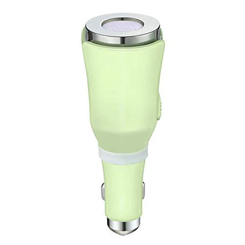 Auto Aroma Luftbefeuchter Auto Luftauffrischer Luftentfeuchter Diffusor mit ätherischen Ölen, Plug-In Aromatherapie Diffusor Zigarettenanzünder Diffusor Dual USB Ladegerät, Luftbefeuchter für zu Hause