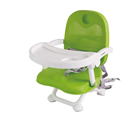 YShop Siège rehausseur portatif Confortable de bébé de bébé de Chaise réglable en Hauteur, Chaise dinante des Enfants for des bébés aux Enfants en Bas âge ( Color : Green )